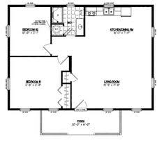 16 x 20 small house plans 6 pioneers cabin 16x20 on modern image result for 30 by 40 floor plans floor plans