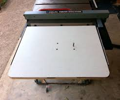 Table Jigsaw Add A Jig Saw Table To Your Table Saw 6 Steps With Pictures