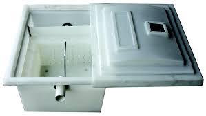 kitchen grease trap design amanzi matters grease u0026 fat traps