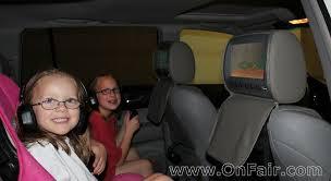 headrest dvd player install in toyota highlander review headrest