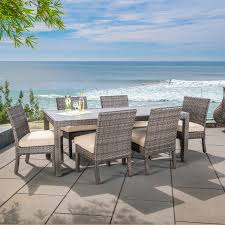 Seven Piece Patio Dining Set - kingston 26pc estate collection mission hills furniture