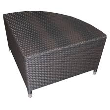 outdoor wicker coffee table tables thippo