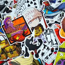 jdm sticker bomb 50 pcs black u0026 white sticker bomb u2013 vinylcutz