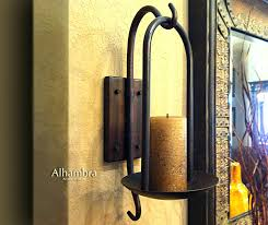 Gold Wall Sconces For Candles Sconce Gold Metal Candle Wall Sconces Iron Wall Sconce Candle