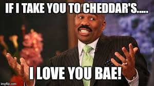 I Love You Bae Meme - steve harvey meme imgflip