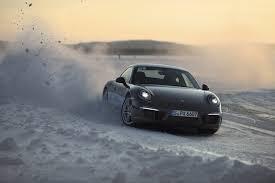 porsche 911 winter take a winter driving course from audi mercedes or porsche capelux