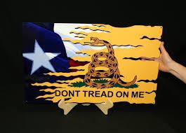 Texas Flag Pledge Mancave U201cdont Tread On Me U201d Texas Flag Custom Steel Signs And