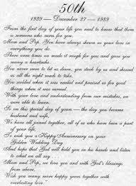 60th wedding anniversary poems 50th wedding anniversary verses for parents 50th wedding