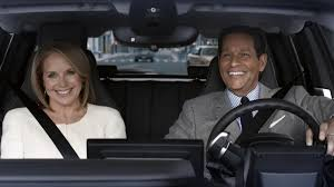 bmw commercial see katie couric bryant gumbel in bmw u0027s super bowl ad special