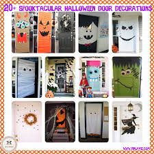 halloween door ideas 20 spooktacular halloween door decorations pinlaviecom halloween