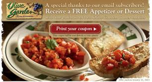 Printable Olive Garden Coupons Olive Garden Coupons Printable Code For Restaurant Lunch