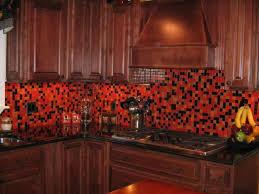Black Kitchen Backsplash Ideas Kitchen Great Red And Black Tile Kitchen Backsplash With Nice