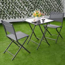 Folding Patio Furniture Dining Sets - backyard and garden decor folding outdoor table and chairs