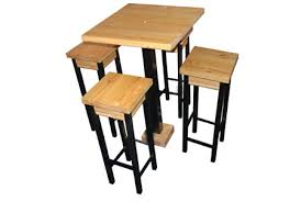 home dzine home diy bar table and stools