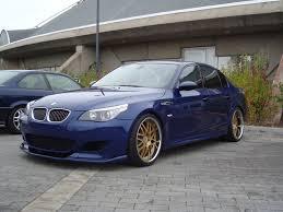 bmw e60 gold interlagos blue m5 e60 with wheels bmw m5 forum and m6 forums