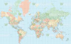 Blank Color World Map by Pastel World Map Wallpaper World Map Mural