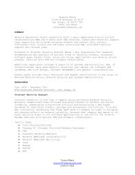Web Services Testing Sample Resume Information Security Resume Template Resume For Your Job Application