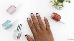 fall color curve nail art by essie youtube