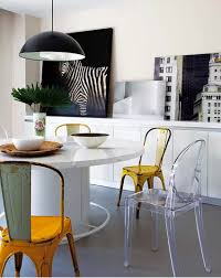 Designer Dining Room Furniture 10 Dining Room Ideas With Modern Dining Chairs By Philippe Starck