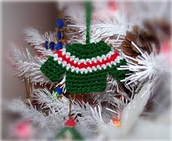 ravelry sweater ornament pattern by spencer