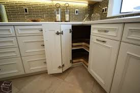 kitchen corner furniture what are my storage options in corner base cabinets when designing