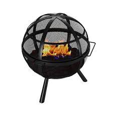 Fire Pit Globe by Globe Ball Outdoor Backyard Garden Home Light Fire Pit
