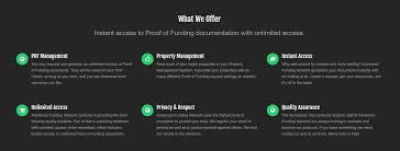 proof of funds document u0026 letter providers hard money real