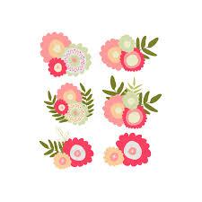 Peach Flowers Floral Peach Flower Clipart Kid Clipartix