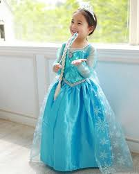 frozen costume frozen princess elsa blue dress costume blossom costumes