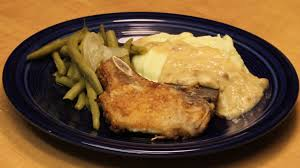 fried pork chops with gravy with michael u0027s home cooking youtube