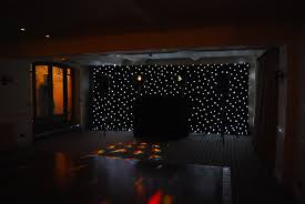 stage backdrop curtain lights decorate the house with beautiful