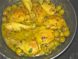 cuisine marocaine poulet recette poulet aux olives sur zezette de cuisine de zezette
