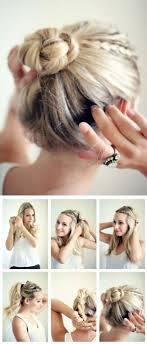 diy hairstyles in 5 minutes step by step hairstyle tutorials you can do for less than 5 minutes