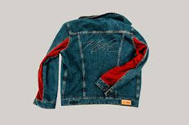 Nike Levis brand x levi s皰 air iv and reversible trucker jacket