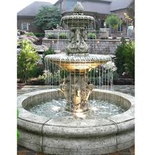 Backyard Fountains For Sale by Tiered Outdoor Fountains Water Feature Pros