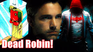 batman v superman robin suit easter egg youtube