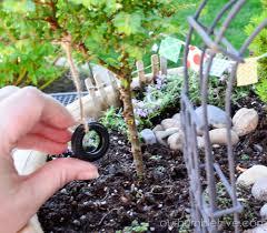 Mini Garden Flags Miniature Garden U2014 Our Humble Hive
