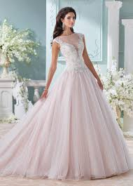 hand beaded illusion neckline with lace wedding dress 116203 idalia