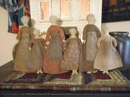 Mother Daughter Christmas Ornaments 147 Best Primitive Dolls Images On Pinterest Rag Dolls