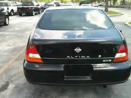 Nissan Altima Black Interior 1999 Nissan Altima Gxe Mileage 150k Exterior Black Interior