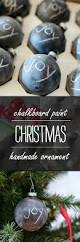 chalkboard paint ornament