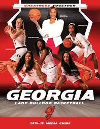 2015 16 georgia women u0027s basketball media guide by georgia bulldogs