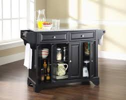 kitchen mini black kitchen island table with storage and side