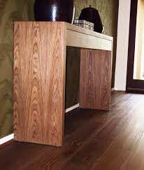 you can use timber accent pieces to complement your floating