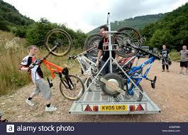 motocross bike trailer cwmdown downhill uplift trailer at cwmcarn forest drive south