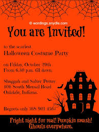 incredible halloween party invitation wording which you need to