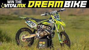 can am motocross bikes win vital mx u0027s 2017 husqvarna tc 300 dream bike motocross