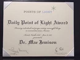 point of light award empowering our youth through stem the beaker life