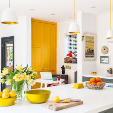 kitchen decorating blue and yellow kitchen kitchen color schemes