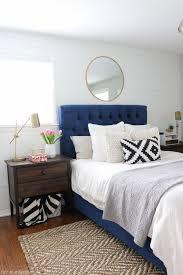 navy blue headboard pertaining to best 25 ideas on pinterest